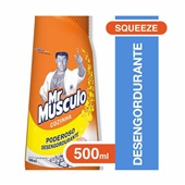 Limpador Desengordurante para Cozinha 500ml Laranja Squeeze 1 UN Mr Músculo