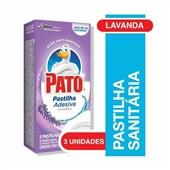 Pastilha Sanitária Adesiva Lavanda 3 UN Pato