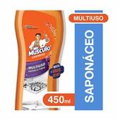 Saponáceo Cremoso Desinfetante 450ml 1 UN Mr Músculo