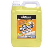 Limpador Desengordurante para Cozinha 5L Limão 1 UN Mr Músculo