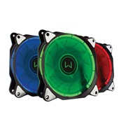Cooler Warrior RGB Eclipe Warrior 1300 RPM GA152 1 UN Multilaser