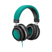 Headphone Large Conector P2 Verde PH227 1 UN Pulse