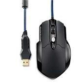 Mouse Gamer Warrior Laser 8 Botões 3200 Dpi Preto USB MO191 1 UN Multilaser