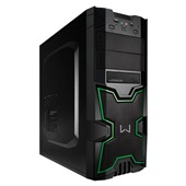 Gabinete Gamer Warrior Preto GA154 1 UN Multilaser
