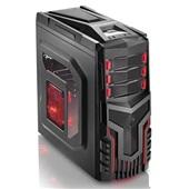 Gabinete Gamer sem Fonte Cooler LED GA124 1 UN Multilaser