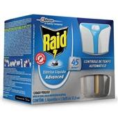 Inseticida Elétrico Líquido Advanced Aparelho com Refil 32,9ml 1 UN RAID