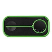 Caixa de Som Bluetooth Color Series Preto e Verde SP208 Pulse