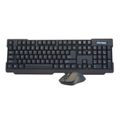 Teclado e Mouse Wireless 2.4Ghz USB Preto 6011301 1 UN Maxprint