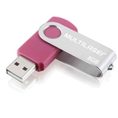 Pen Drive Twist 8GB USB 2.0 Rosa PD687 1 UN Multilaser