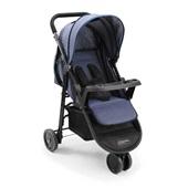 Carrinho de Bebê 3 Rodas Agile Jeans BB527 1 UN Multikids Baby