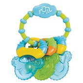 Mordedor com Gel Cool Rings Azul BB150 1 UN Multikids Baby