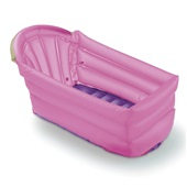 Banheira Inflável Bath Buddy Rosa BB206 1 UN Multikids Baby