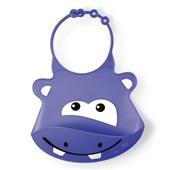 Babador de Silicone Silybib Hipopótamo BB044 1 UN Multikids Baby