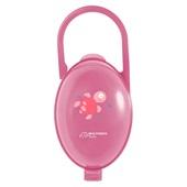 Porta Chupeta Rosa BB142 1 UN Multikids Baby