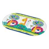 Tapete Banho Safe Bath Antiderrapante Colorido BB178 1 UN Multikids Baby