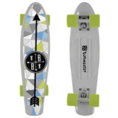 Skate Mini Cruiser Bob Burnquist Branco ES091 1 UN Atrio