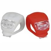 Kit Farol Traseiro e Dianteiro com 2 LEDs Branco e Vermelho BI050 1 UN Atrio