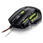 Mouse XGamer Perfomance Fire Button 2400 Dpi USB Verde MO208 1 UN Multilaser