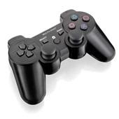 Controle Gamer 3 em 1 Sem Fio para PS2 PS3 e PC JS072 1 UN Multilaser