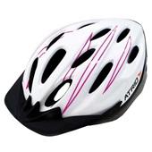 Capacete para Ciclista MTB Branco e Rosa M BI124 1 UN Atrio