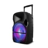 Caixa Amplificadora LED Bluetooth com Microfone 100W RMS SP259 1 UN Multilaser