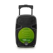 Caixa Amplificadora Bluetooth Microfone Rádio FM 100W RMS SP258 1 UN Multilaser