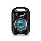 Caixa de Som Portátil 4 Polegadas Bluetooth Rádio FM 40W SP256 1 UN Multilaser