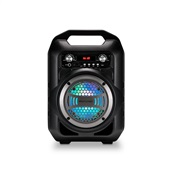 Caixa de Som Portátil 6 em 1 Bluetooth Karaokê Rádio FM 50W SP255 1 UN Multilaser