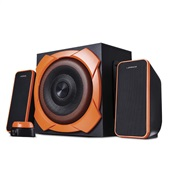 Caixa de Som 2.1 Warrior Gamer 50W RMS SP266 1 UN Multilaser