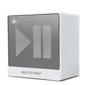 Caixa de Som Portátil Bluetooth 8W Branca SP278 Multilaser