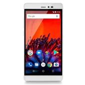 Smartphone MS60F Dual Chip 4G Tela 5,5 Sensor Digital Dourado e Branco P9056 Multilaser