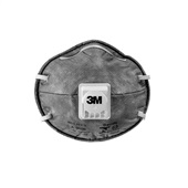 Respirador para Vapores Orgânicos 8023B PFF2 C.A 9626 1 UN 3M