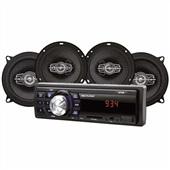 Kit Som Automotivo MP3 One Quadriaxial AU955 1 UN Multilaser