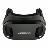 Óculos Realidade Virtual 3D com Headphone Warrior JS086 1 UN Multilaser
