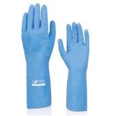 Luva Proteção Latex M Azul C.a 10695 1 Par Volk