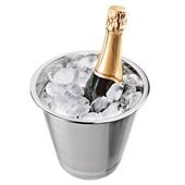 Balde para Champagne com Aba Avulso 1 UN Euro