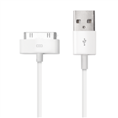 Cabo USB para iPhone 4 4S e IPad Branco WI255 1 UN Multilaser