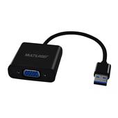 Cabo Conversor USB M x VGA F WI348 1 UN Multilaser