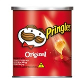 Batata Mini Lata Original 37g PT 1 UN Pringles