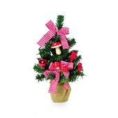 Árvore de Natal Decorativa 21cm 1618053 CX 1 UN Cromus