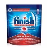Detergente Lava Louças Powerball em Tablete 18,1g cada 13 UN Finish