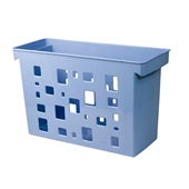 Caixa Arquivo DelloColor Azul Claro 1 UN Dello