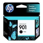 Cartucho HP 901 4ml Preto Original CC653AB