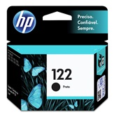 Cartucho HP 122 2ml Preto Original CH561HB