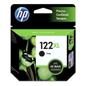 Cartucho HP 122XL 8,8ml Preto Original CH563HB