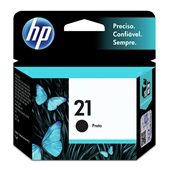 Cartucho HP 21 7ml Preto Original C9351AB