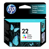 Cartucho HP 22 6ml Tricolor Original C9352AB