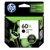 Cartucho HP 60XL 13,5ml Preto Original CC641WB