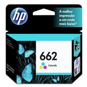 Cartucho HP 662 2ml Tricolor Original CZ104AB