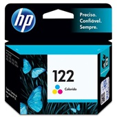 Cartucho HP 122 2ml Tricolor Original CH562HB